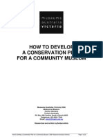 How to Develop a Conservation Plan for a Community Museum