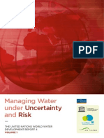 Volume 1-Managing Water Under Uncertainty and Risk