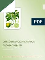 Corso di Aromaterapia e Aromacosmesi