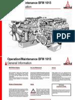 Operation and Maintenance Deutz Engine 1015 English 4775387 01