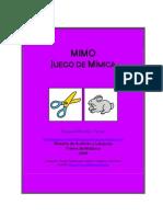 Mimo_juego de Mimica
