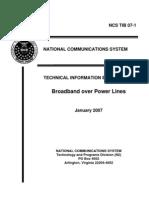 Internet Through Transmit Ion Line