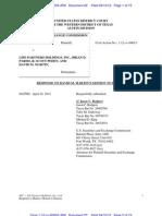 SEC Response to Motion to Dismiss - Martin