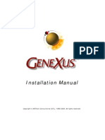 Genexus Installation Manual