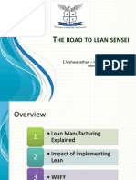 Lean Manufacturing --- An Introduction