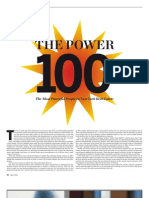 Commercial Observer POWER 100 Section 2011