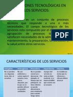 GENERACIONES TECNOLÓGICAS EN LOS SERVICIOS