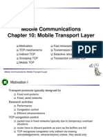 Mobile Transport Protocols