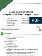 Mobile Transport Protocols