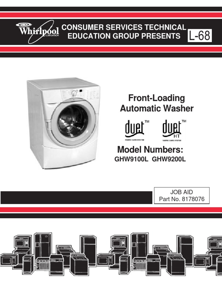 whirlpool duet washer service manual | washing machine | ac power plugs and  sockets