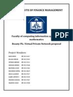 Beauty Plc. VPN Project Proposal