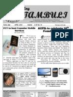 ACFIL's Ang Tambuli April 2012 Newsletter