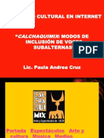 Periodismo cultural y redes sociales - PRACTICAS CRITICAS