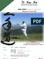 Oi Kaze Kan - Stage Adultes 13 05 2012