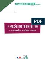 Guide Pratique Le Harcelement Entre Eleves1