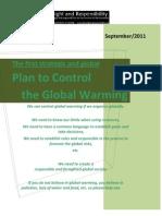 Plan Control Global Warming