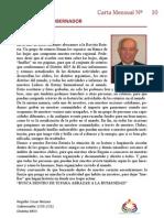 CARTA MENSUAL Nº 10  Abril de 2012