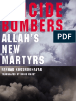 Suicide Bombers Allah 039 s New Martyrs