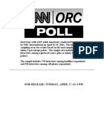 CNN/ORC poll crosstabs