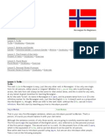 Norwegian for Beginners