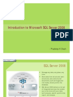 Introduction to SQL Server 2008