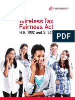 Why We Need the Wireless Tax Fairness Act