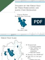 [Presentation] Nonlinear Dynamics of the Great Salt Lake