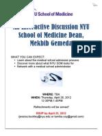 Prehealth Seminar-Mekbib 4.17.12