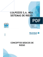 23sistemas de Riego Colpozos