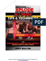 Bolt on Bench eBook