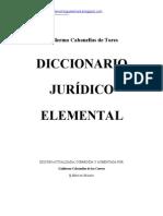 Diccionario Juridico Guillermo as