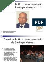 Rosarios de Cruz en El Novenario de Santiago