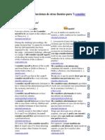 Ejemplos de Traducciones de Otras Fuentes Para