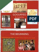 Humanities Goguryeo PDF