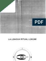 La Lengua Ritual Lukumi - Victor Bet an Court