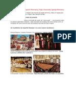 A hierarquia do Império Romano