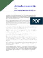 La economía del Ecuador