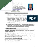 Ingeniero Sistemas Michael Guerra Curriculum Vitae