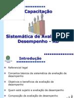 AVALIAÇÃO DE DESEMPENHO MINISTERIO SAUDE
