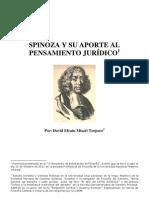 SPINOZA Y SU APORTE AL PENSAMIENTO JURÍDICO