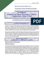 David Rivera Investigation