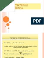 Sistem Komunikasi Interpersonal