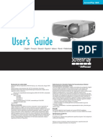 Infocus SP4805 Reference Guide Es