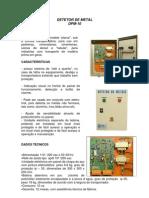 Detector de Metal Priel