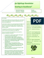 March Principal Newsletter 2012
