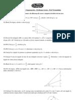 Lista-Trigonometria