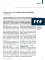 Climate Change and Human Health Impacts Vulnerability and Mitigation