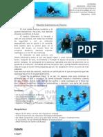 03. Bautismo Submarino Guiado en Piscina