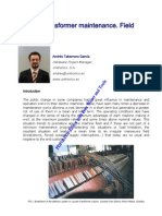 Power Transformer Maintenance