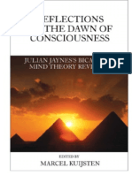 Reflections on the Dawn of Consciousness
